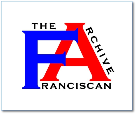 Welcome to The Franciscan Archive !